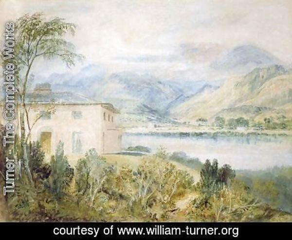 Tent Lodge by Coniston Water 1818 & Turner - The Complete Works - Tent Lodge by Coniston Water 1818 ...