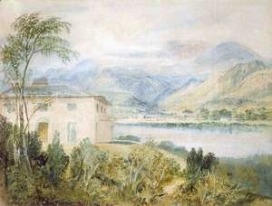 Turner - Tent Lodge, by Coniston Water, 1818