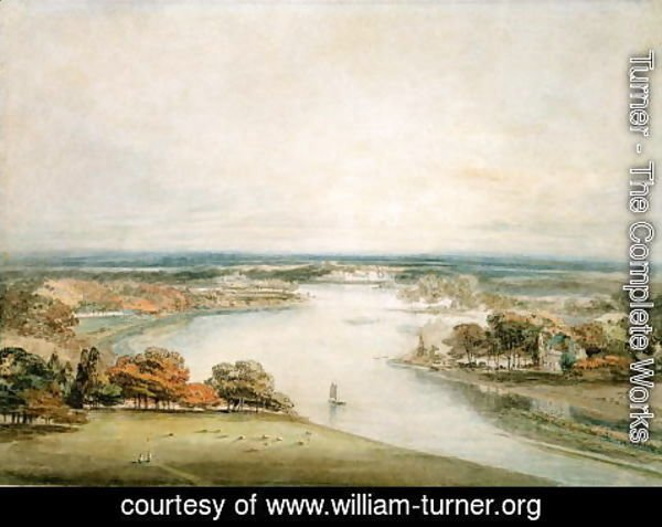 Turner - The Thames from Richmond