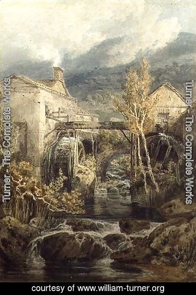 Turner - The Old Mill, Ambleside