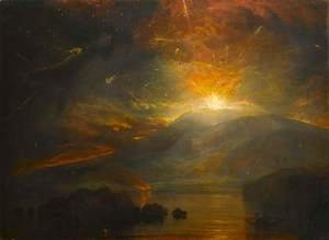 Turner - The Eruption of the Soufriere Mountains in the Island of St. Vincent, 30th April 1812