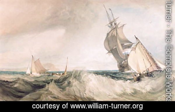 Turner - Off St. Albans Head