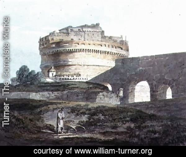 Turner - Castle of San Angelo, Rome
