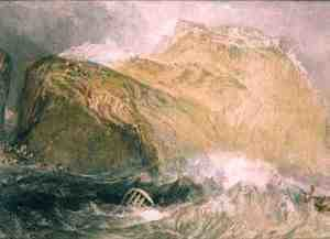 Turner - Tintagel Castle, Cornwall