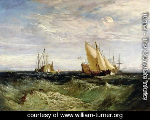 Turner - A Windy Day
