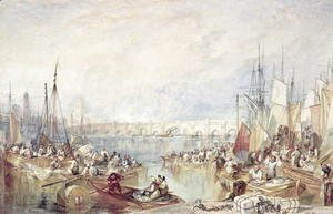Turner - The Port of London