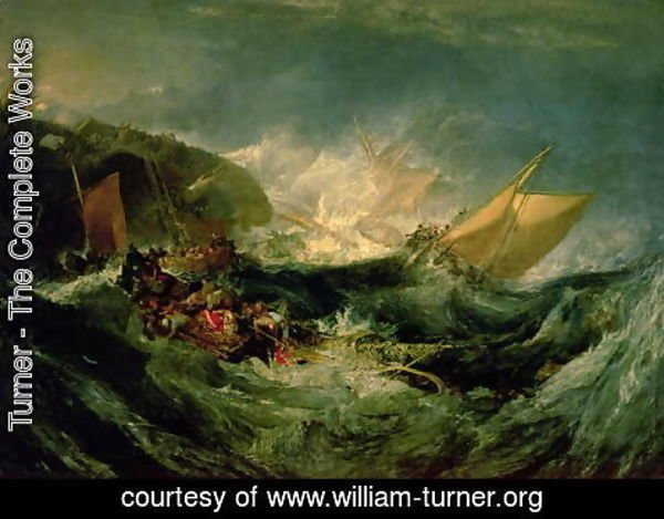Turner - Wreck of a Transport Ship