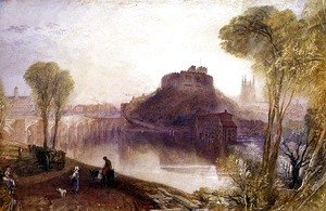 Turner - Tamworth Castle, Staffordshire