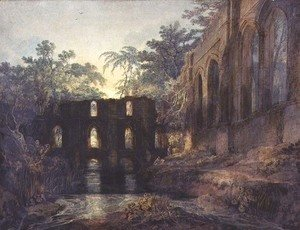 Turner - Fountains Abbey