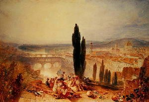 Turner - Florence from near San Miniato