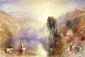 Turner - Lake Nemi 2