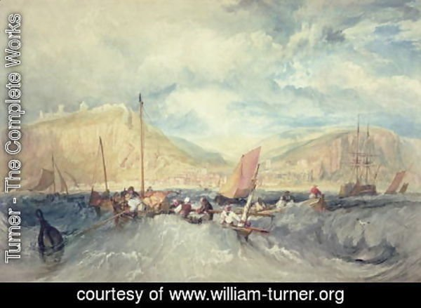 Turner - Hastings from the Sea
