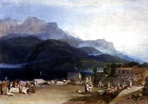 Turner - Lake of Brienz