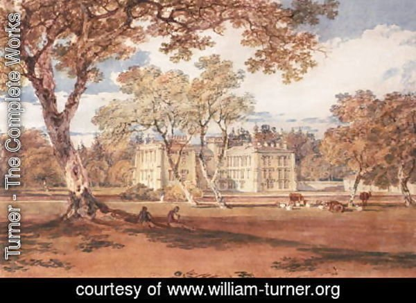 Turner - Towneley Hall, c.1798