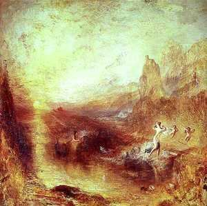 Turner - Glaucus and Scylla from Ovids Metamorphoses, 1841