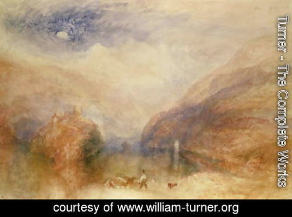 Turner - Lake of Brienz 2