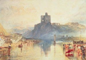 Turner - Norham Castle, 1824