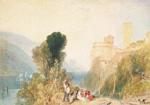 Turner - Dartmouth Castle, 1824
