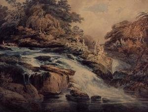 Cascade at Hampton Court, 1795