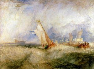 Turner - Van Tromp Going About to Please His Masters - Ships a Sea Getting a Good Wetting, 1844