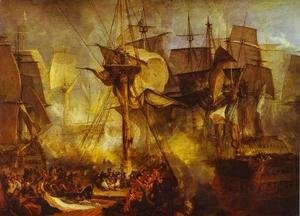 Turner - The Battle of Trafalgar