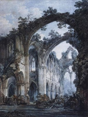 Turner - Inside of Tintern Abbey