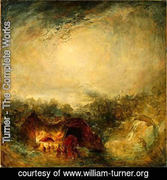 Turner - The Evening of the Deluge