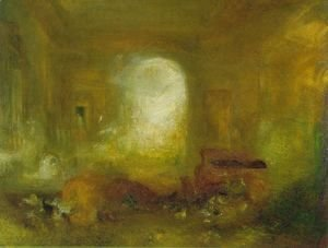 Turner - Interior at Petworth 2