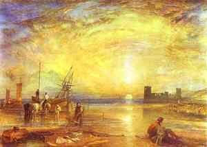 Turner - Flint Castle