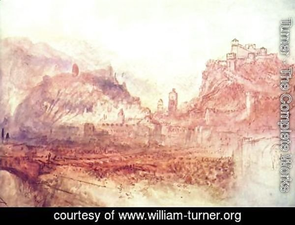 Turner - Bellinzona of the south