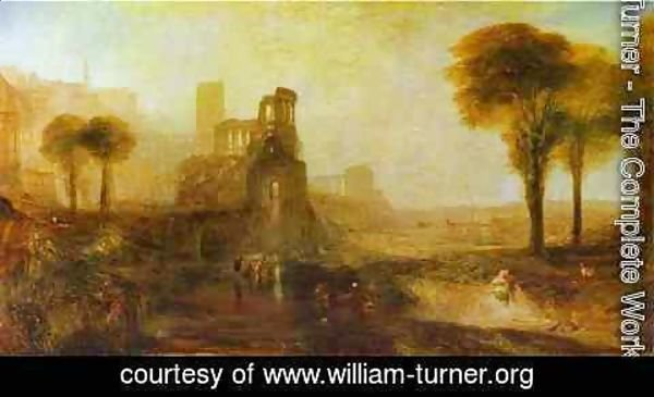 Turner - Caligula's Palace and Bridge