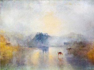 Turner - Dawn in Norham Castle