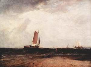 Turner - Fish at the Blythe sand