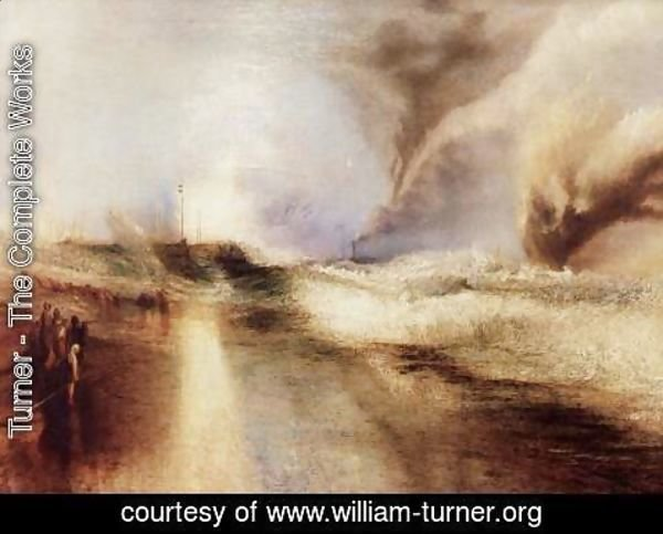Turner - Flares with rough sea