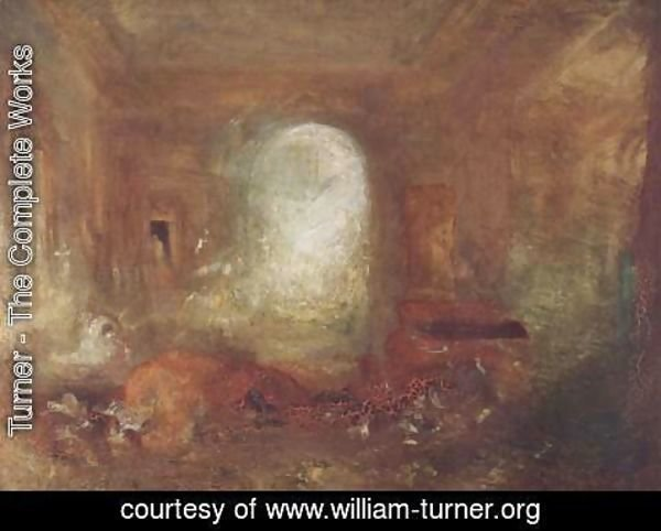 Turner - Interieur in the Petworth House