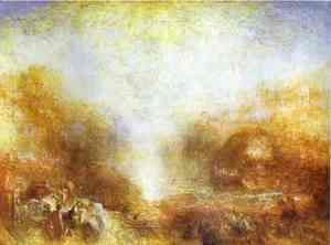Turner - Mercury Sent to Admonish Aeneas