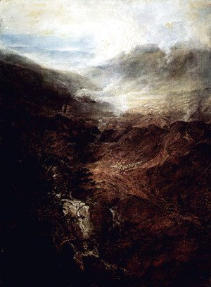 Turner - Morning Amongst the Coniston Fells, Cumberland