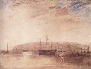 Turner - Navigation before the land of East Cowes