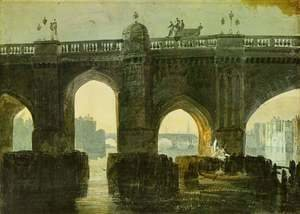 Turner - Old London Brige