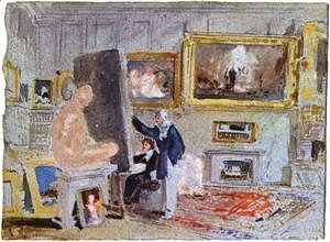 Turner - Painter at the Staffelei