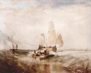 Turner - Passengers go on board