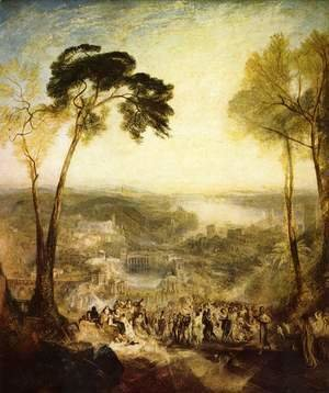 Turner - Phryne visited Venus in a public bath, Demosthenes is Äschines blamed