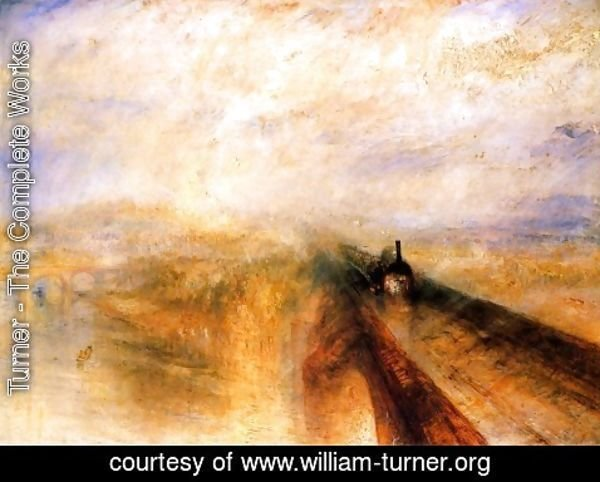 Turner - Rain Steam and Speed the Great Western Railway