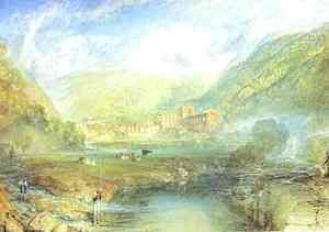 Turner - Rivaulx Abbey, Yorkshire
