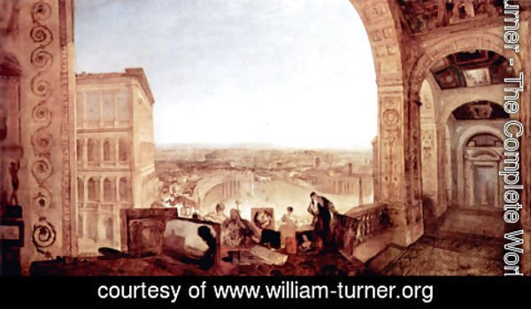 Turner - Rome, from the Vatica