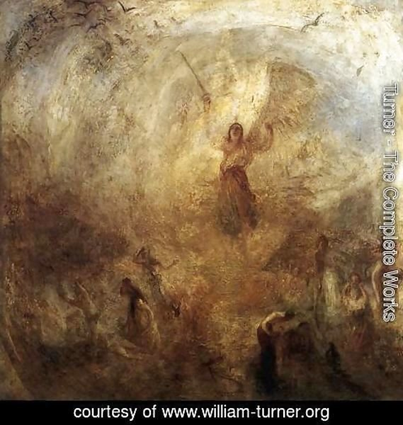 Turner - The Angel, Standing in the Sun