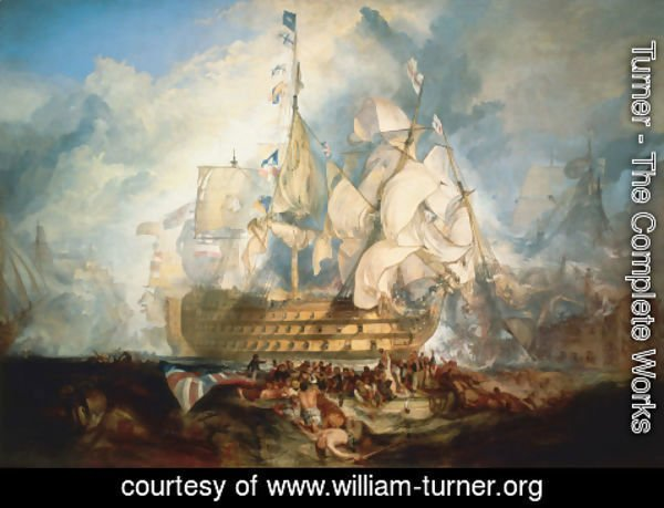 Turner - The Battle of Trafalgar 1