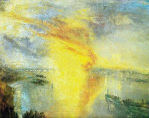 Turner - The fire of the parliament