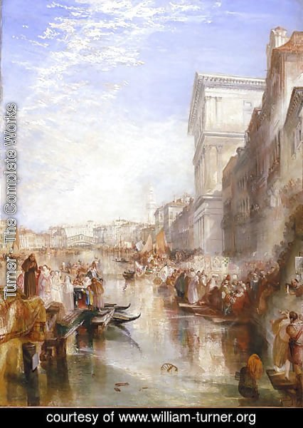 Turner - The Grand Canal