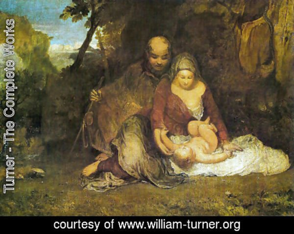 Turner - The Holy family